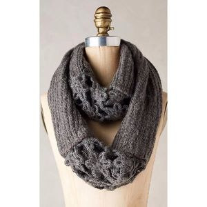 Anthropologie Villarica Crocheted Scarf
